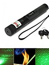 LT-G303  Adjustable Focus Green Laser Pointer(1MW. 532nm. 1*18650.Black)
