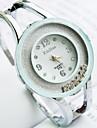 Women's Round Dial Rolling Diamonds Alloy Band Quartz Bracelet Watch (Assorted Colors) Cool Watches Unique Watches