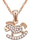 женская циркон AAA микро - небольшие троянских подвески ожерелья