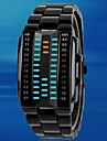 Men's Rectangle Case Alloy Band  LED  Sport Waterproof Watch (Assorted Colors) Cool Watch Unique Watch