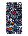 Pour Coque iPhone 6 Coques iPhone 6 Plus Etuis coque Motif Coque Arrière Coque Dessin Animé Flexible Silicone pouriPhone 6s Plus iPhone 6