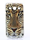 Yellow Eyes Pattern TPU Soft Case for Samsung Galaxy Trend 3 G350E/G3508I