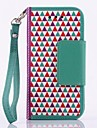 Multi-fonction Triangle Building Block PU Leather Full Body Case for SAMSUNG GALAXY S4 Mini I9190
