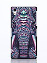 Elephant Pattern Plastic Hard Case for Sony Xperia Z2
