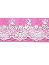 Lace Baking Fondant Cake Choclate Candy Mold, 17.5x6.7x0.4cm