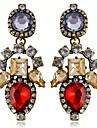 pendientes de diamantes de la moda gran gema europeos y americanos