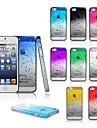 toophone® Joyland gouttes de pluie en trois dimensions de retour silicone gradient de cas de couverture pour l'iphone 6 (de couleurs