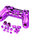 Plating PS4 Controller Case Replacement Parts for PS4 Controller
