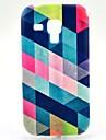 Para Samsung Galaxy Capinhas Estampada Capinha Capa Traseira Capinha Estampa Geometrica TPU Samsung Trend Duos