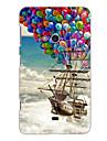 le navire ballon pirate concevoir étui rigide pour Nokia N625