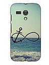 Anchor and Beach Design Hard Case for Motorola Moto g
