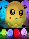 7 couleurs changeantes oeuf a mené la lampe de lumière de nuit