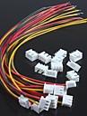 xh2.54-3p одна голова провод с проводков (10шт)