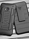ремень падение зажим сопротивление брони защитная оболочка с подставкой и клипсой для HTC One M7