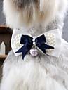 katten / honden Vachtaccessoires / Stropdas / Strikken Blauw Lente/Herfst Bruiloft / Cosplay