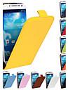 Samsung S4 I9500 compatible Couleur unie/Design Special Cuir PU/Vrai cuir Etuis du corps entier