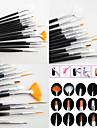 15 Kits Nail Art Prego Kit Art Ferramenta de Manicure maquiagem Cosmeticos DIY Nail Art
