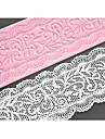FOUR-C кружева торт формы силиконовые кружева коврик украшение площадка для торта выпечки, силиконовые коврик помады торт инструменты цвет