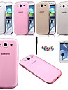 KARZEA™ 0.05mm Ultrathin Transparent TPU Back Case with Screen Protector+Stylus for Samsung S3 i9300(Assorted Color)