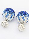Women\'s Stud Earrings Fashion Costume Jewelry Rhinestone Alloy Jewelry For