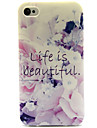 The Good Life Pattern TPU Soft Case for iPhone 4/4S