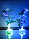 Водонепроницаемый - Ночные светильники - Меняет цвета - Батарея - 3 - (W V)