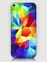 Pour Coque iPhone 5 Motif Coque Coque Arriere Coque Forme Geometrique Dur Polycarbonate pour iPhone SE/5s/5