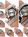 Women's Round  Dial  Diamante  Circuit Band Quartz  Watch (Assorted Color)C&d184 Cool Watches Unique Watches