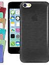 ginásio cristal desenho caso de volta para o iphone 5-C (cores sortidas)