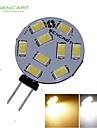 G4 GZ4 MR11 4.5W 9x5730/5630SMD LED 360LM 3500K 6000K  Warm White/Cool White LED Spot Lights Light Bulb  DC/AC 9-36V