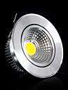 Bestlighting 3 W 1 COB 300-350lm LM 6000-6500K K Warm White/Cool White Rotatable Recessed Lights AC 100-240 V