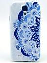 Pour Samsung Galaxy Coque Motif Coque Coque Arriere Coque Mandala PUT pour Samsung S4 Mini