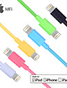 tailler mfi foudre donnees de synchronisation USB 8 broches certifies / cable de chargement pour iPhone 5 / 5s / 6/6 plus ipad air / ari2