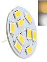 1 pcs dingyao G4 2 W 9LED SMD 5730 180-400 LM  Warm White/Cool White Bi-pin Lights AC 12 V