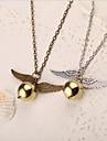 Homme Femme Colliers Vintage Alliage Argent Bronze Bijoux Pour Soiree Quotidien Decontracte 1pc