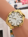 Men's Watches Europe And The United States Selling Fake Swiss Quartz Calendar Hand Watch With Gold Alloy Cool Watch Unique Watch