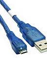 5м USB 2.0 мужчина к Micro USB 2.0 мужчина кабеля