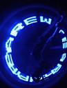 Eclairage de Velo , Ampoules LED / Eclairage de bicyclette/Eclairage velo - 1 Mode 400 Lumens Couleurs changeantes Batterie Cyclisme/Velo