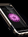 High Quality Precision Machine Working Metal Frame protector for iPhone 6 (Assorted Colors)