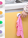 Poke N Pull Self Adhesive Easy Install Towel Holder (Random Color)