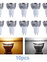 10pcs MORSEN® GU10 3W 200-250LM Support Dimmable Light LED Spot Bulb