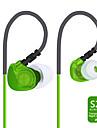 plextone s20 ® sweatproof / night-luminosi / sportive cuffie wired auricolari (in orecchio) con il microfono / per la musica