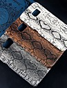 Relief Python skin pattern Design Plastic Hard Back Cover for Samsung Galaxy S6 G9200