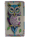 For Samsung Galaxy Note Wallet / Card Holder / with Stand / Flip Case Full Body Case Owl PU Leather Samsung Note 3
