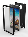 For Samsung Galaxy Note Shockproof / Dustproof Case Back Cover Case Armor PC Samsung Note 4