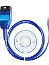 vag kkl USB + pour fiat Ecu scan outil interface obd2 compatible diagnostic avec puce FT232RL originale