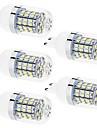 Daiwl 5pcs G9 4W(=Incan 35W) 60 2835SMD 350LM Warm White/White LED Light 110V/220V