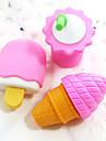 παγωτό κρέμα ποτό συγκεντρώσει γόμα από καουτσούκ (τυχαία χρώμα)