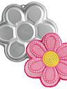 quatre c pan gateau en forme de fleur de metal d\'aluminium de moule de cuisson, des outils de cuisson pour gateaux