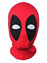 Cosplay Mask/Zentai Accessories Dead Super Hero Mutant Wilson Cosplay Mask Hood Balaclava Face Adjustable Halloween Black/Red Unisex